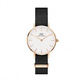 Daniel Wellington Cornwall 28mm rosè weiße Uhr