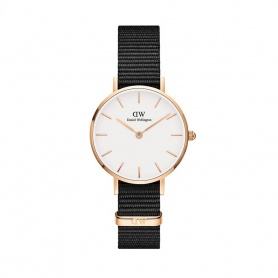 Daniel Wellington Cornwall 28mm rosè white watch