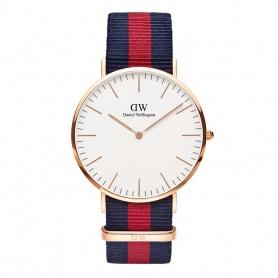 Daniel Wellington Oxford 40mm rosè weiße Uhr