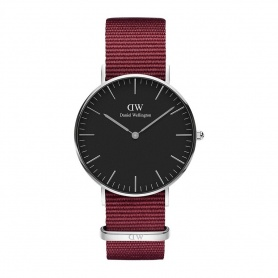 Orologio Daniel Wellington Roselyn 36mm silver black