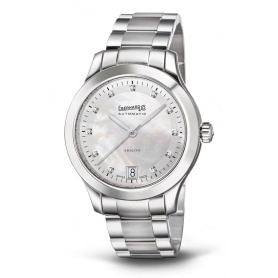 Eberhard Aiglon Dame watch, woman, with diamonds - 41035.S CA