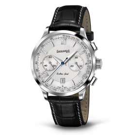 Watch Eberhard Extra Fort Chrono Bicompax silver