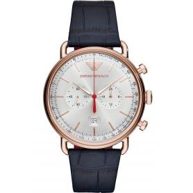 Armani Aviator Chrono Vintage Uhr Rosé AR11123
