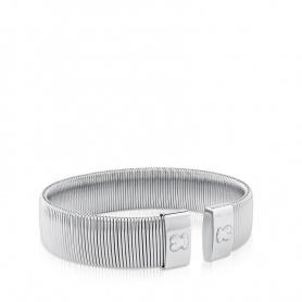 Tous Bulevard Armband Edelstahl Silber Armreif - 512661500