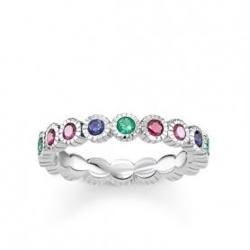 Ring Veretta Thomas Sabo Royalty natürliche multicolor Steine
