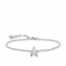 Bracelet Thomas Sabo Silver Starfish and White zircon
