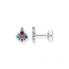 Thomas Sabo Earrings Royalty multicolor ethnic stones