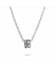 Filodellavita Weißgold und Diamant Anhänger - AN1002BBT