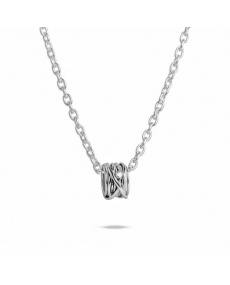Filodellavita white gold and diamond pendant - AN1002BBT