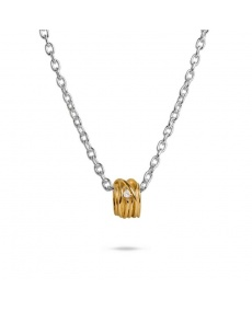 Filodellavita yellow gold and diamond pendant - AN1002GBT
