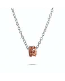 Filodellavita rose gold and diamond pendant - AN1002RBT