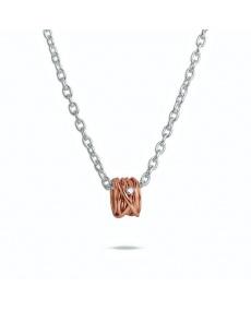 Filodellavita Roségold und Diamant Anhänger - AN1002RBT