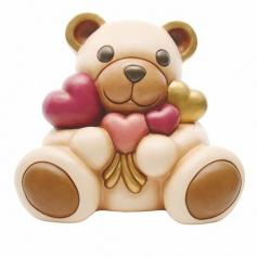 Thun Teddy bunch of Hearts Maxi - F2324H90