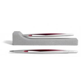 Penna Pininfarina Forever Aero rosso punta in ethergraf
