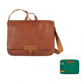 Leather Messenger-CA3064S65-MVE