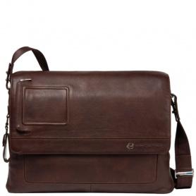 Messenger laptop bag-leather CA1592VI/TM