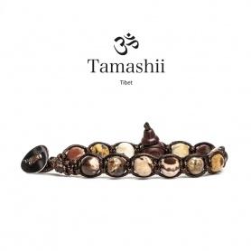 Tamashii bracelet Jasper Hindu one round - BHS900-183