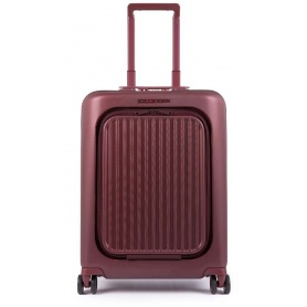 Trolley Piquadro small red Seeker BV4426SK / R