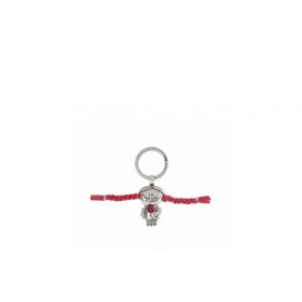 Pippi keychain long socks Uno de50 - LLA0008ROJ X