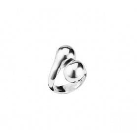 Ring Uno de50 Nosotros mit versilberter Schlussboulle