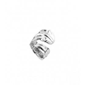Ring Uno de50 Pluma silbrig Federform