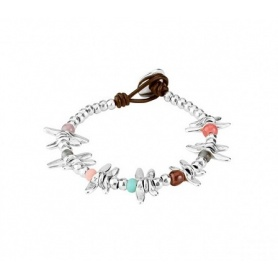 Bracelet Uno de50 Any Time dragonflies with colored stones