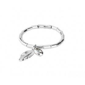 Bracelet Uno de50 Semi-rigid Desplumada - PUL1775GRSMTL0M