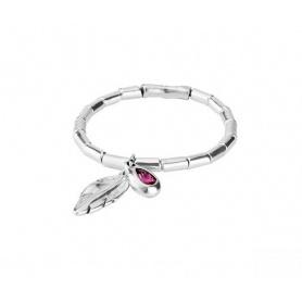 Bracelet Uno de50 Semi-rigid elastic Desplumada