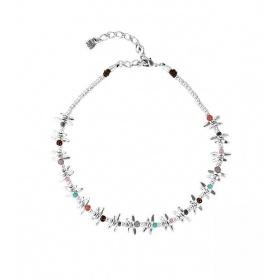 One de50 Halskette Any Time Libellen und Steine - COL1281MCLMTL0U