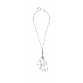 Halskette One de 50 Schöne lange Libellen und farbige Steine