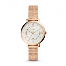 Fossil watch woman Jacqueline rosè Roman indexes - ES4352