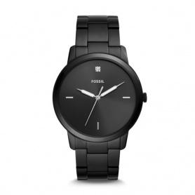 Fossil watch unisex The Minimalist black pvd luminova - FS5455
