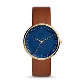 Orologio Fossil uomo Essentialist dorato e blu - FS5473