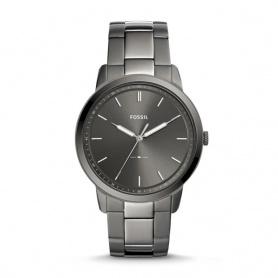 Fossil man's watch The Minimalist smoked gray luminova - FS5459