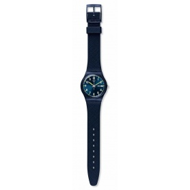 Orologio Swatch Original Gent Sir Blue satinato ruvido - GN718