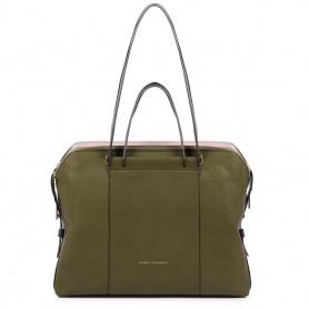 Piquadro Circle Damenhandtasche mit drei Fächern BD4574W92 / VE