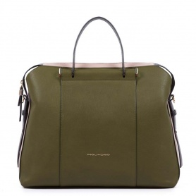 Piquadro Circle Women's Green Folder - CA4577W92 / VE