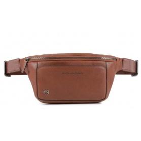 Piquadro Black Square leather pouch - CA2174B3 / CU