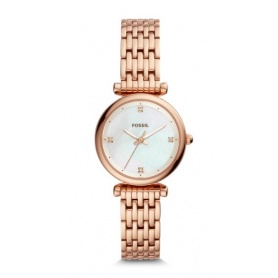 Fossil Carlie mini rose woman watch - ES4429