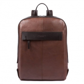 Piquadro Pyramid backpack in leather - CA4592W93 / M
