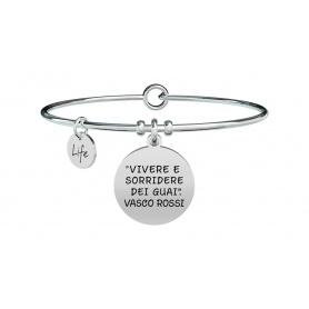 Kidult Vasco Rossi Women's Living Bracelet - 731464