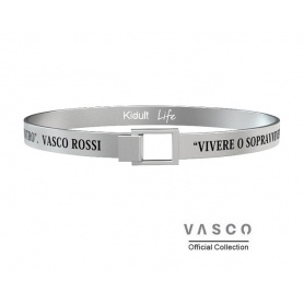 Kidult Vasco Rossi Men's Living Bracelet - 731477