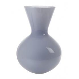 Vase Venini Idria hohe Farbe Traube Interieur lattimo 706.42UV