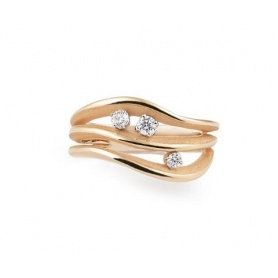 Annamaria Cammilli Luxor ring in orange gold - GAN2632J