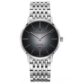 Hamilton watch In- Matic Auto gray - H38455181