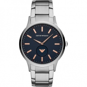 Emporio Armani men's watch blue gray AR11137