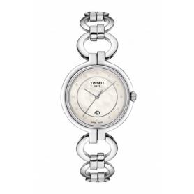 Tissot Flamingo Uhr mit beringten Armband - T0942101111600