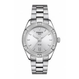 Tissot Pr100 Sport Chic medium steel watch