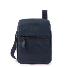 Piquadro Line leather bag - Blue - CA4481W89 / BLU