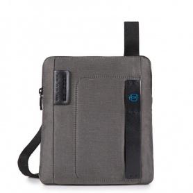 Piquadro Pulse P16 gray bag